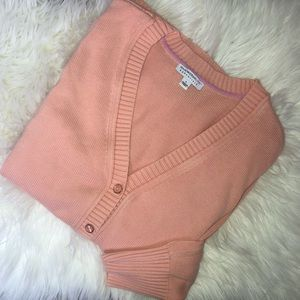 Isaac Mizrahi Sweaters - Issac Mizrahi Blush Pink Cardigan
